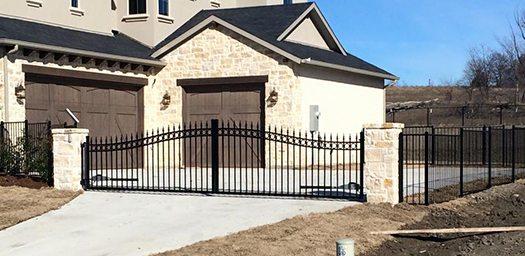 Perfect Ornamental Iron Fence Supply Austin