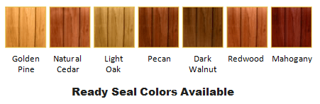 Ready Seal Colors Available