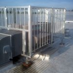 Rooftop AC Cage